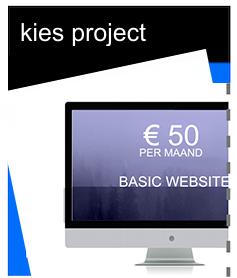 website € 50 per maand